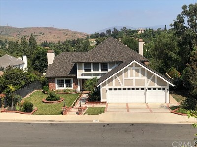 Yorba Linda CA Single Family Home For Sale: $1,108,000