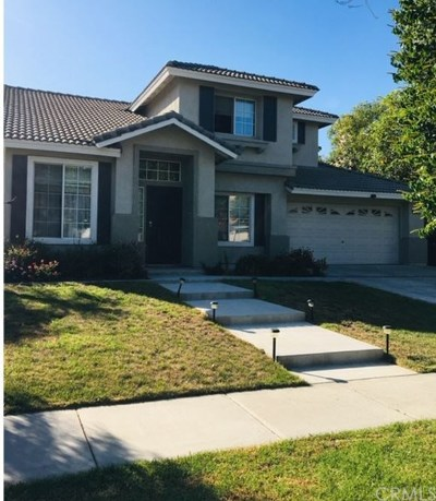 Corona Single Family Home For Sale: 1270 Carriage Lane