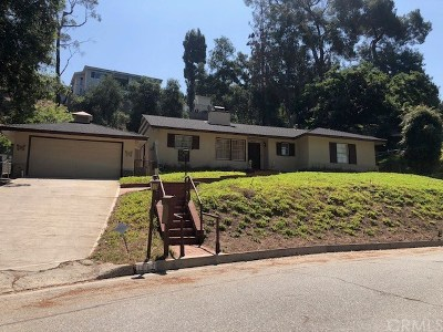 Glendale Single Family Home For Sale: 1645 Las Flores Drive