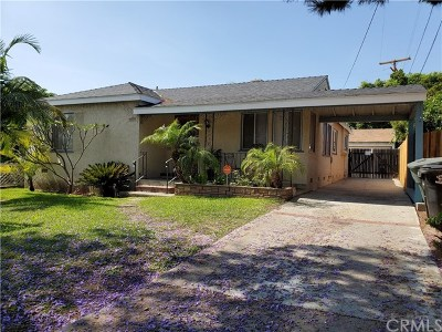 Whittier Single Family Home For Sale: 11745 Broadway