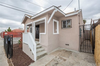 Los Angeles Single Family Home For Sale: 444 W Colden Avenue