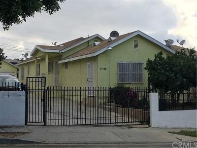 Los Angeles Single Family Home For Sale: 11129 Van Buren Avenue