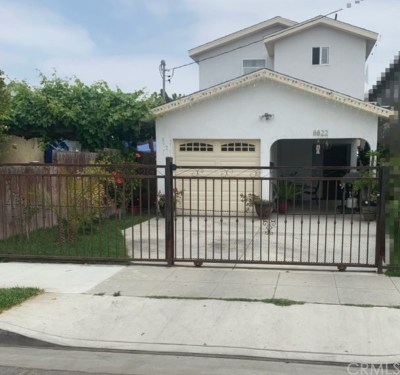 Los Angeles Single Family Home For Sale: 8822 Holmes Avenue