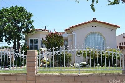 Los Angeles Single Family Home For Sale: 6200 Cimarron Street
