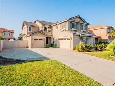 Perris Single Family Home Active Under Contract: 1350 Sunset Avenue