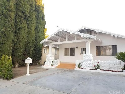 Los Angeles Single Family Home For Sale: 1642 W 39th Place