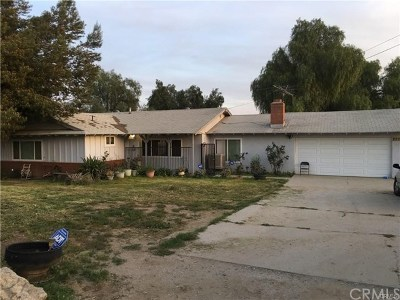 Perris Single Family Home For Sale: 22281 San Jacinto Avenue