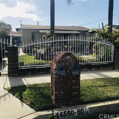 Baldwin Park Multi Family Home For Sale: 14550 Central Avenue