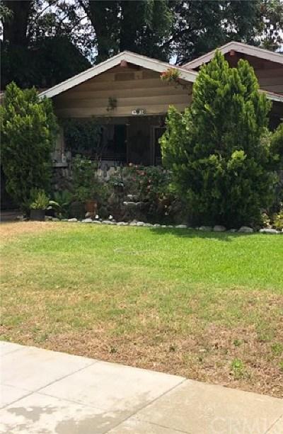 Pomona Single Family Home For Sale: 182 E Columbia Avenue