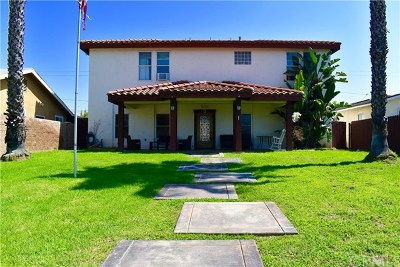 Pico Rivera Single Family Home For Sale: 8737 Beverly Boulevard