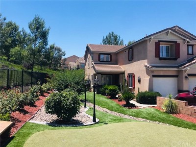Lake Elsinore Single Family Home For Sale: 31923 Hyacinth Court