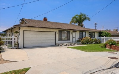 Lomita Single Family Home For Sale: 1856 247th Place