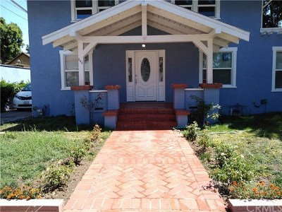 Santa Ana Single Family Home For Sale: 202 W 20th Street