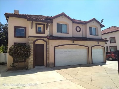 El Monte Single Family Home For Sale: 4937 Peck Road #G