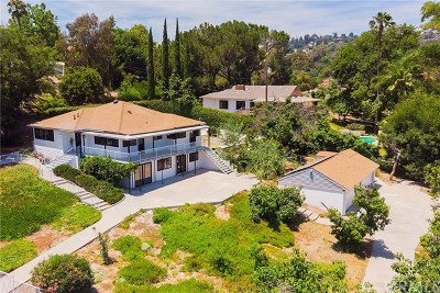 La Habra Heights Single Family Home For Sale: 2245 Vista Road