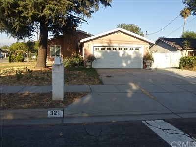 Rialto CA Single Family Home Active Under Contract: $285,000