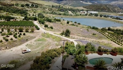Fallbrook Residential Lots & Land For Sale: 40160 De Luz Road
