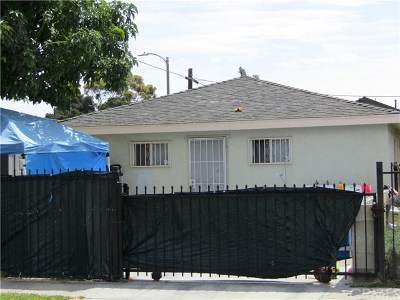 Los Angeles Single Family Home For Sale: 8902 Towne Avenue