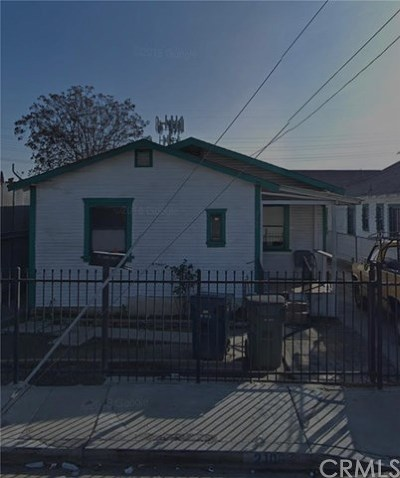 Los Angeles Single Family Home For Sale: 2106 E 89th Street