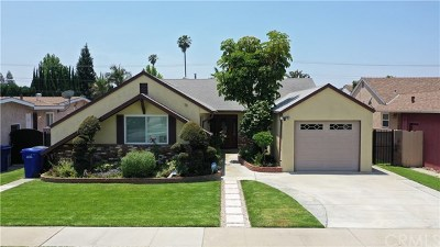 Downey Single Family Home For Sale: 9430 Buell Street