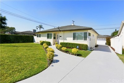 Downey Single Family Home Active Under Contract: 7803 Dinsdale Street