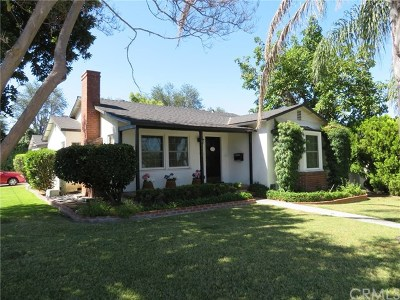 Whittier Single Family Home For Sale: 11252 El Rey Drive