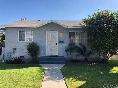 Long Beach Single Family Home For Sale: 1686 E Washington Street
