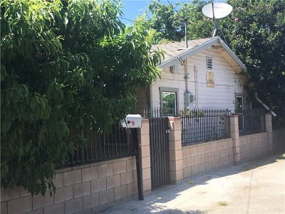 South El Monte Single Family Home For Sale: 9519 Giovane Street