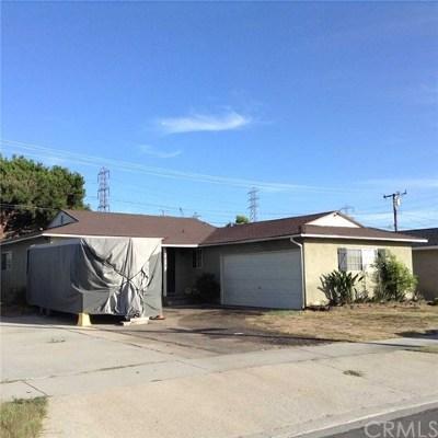 Pico Rivera Single Family Home For Sale: 8878 Pico Vista Road