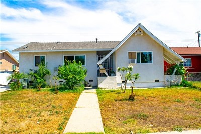 La Puente Single Family Home For Sale: 1106 Sunkist Avenue