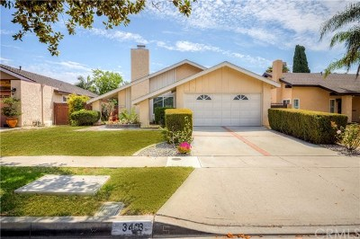 Santa Ana Single Family Home For Sale: 3413 S Towner Street