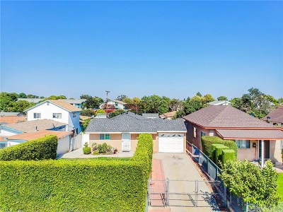 Torrance Single Family Home For Sale: 20514 Berendo Avenue