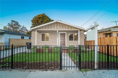 Compton Single Family Home For Sale: 13216 S Largo Avenue