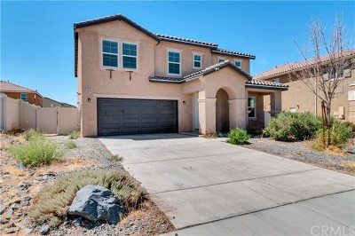 Victorville Single Family Home For Sale: 14429 Chumash Place