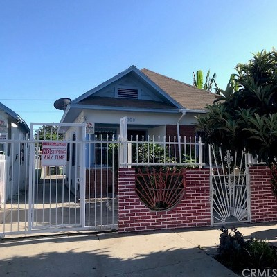 Los Angeles Single Family Home For Sale: 1162 E 49th Street