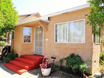 Los Angeles County Multi Family Home For Sale: 5530 Chestnut Avenue