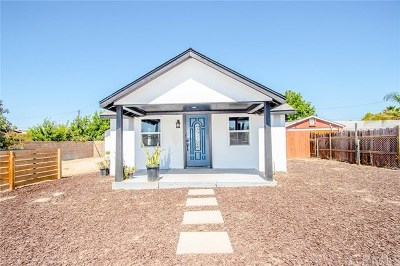 Corona Single Family Home For Sale: 3939 Byron Street