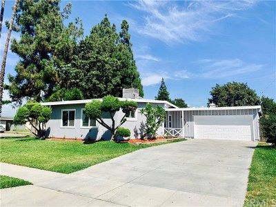 Pico Rivera Single Family Home Active Under Contract: 9762 Aero Drive