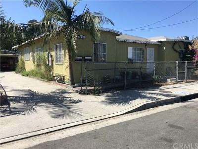 Compton Multi Family Home For Sale: 2036 E El Segundo Boulevard