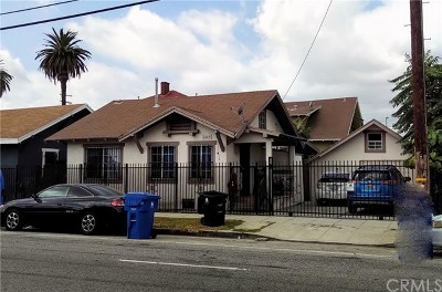Los Angeles Single Family Home For Sale: 4509 S Hoover Street