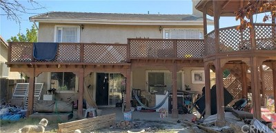 Lancaster CA Single Family Home Active Under Contract: $170,000
