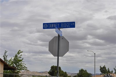 Victorville Residential Lots & Land For Sale: Tawney Ridge