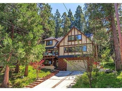 Lake Arrowhead Single Family Home For Sale: 545 Pioneer Road
