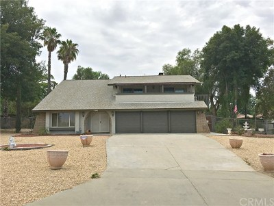 Riverside Single Family Home For Sale: 7460 Summit Street