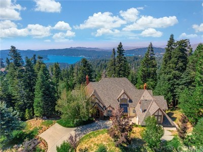 Lake Arrowhead Single Family Home For Sale: 29082 Bald Eagle Ridge