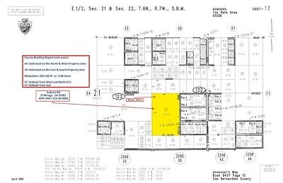 El Mirage Residential Lots & Land For Sale: Auburn X Blanco Avenue