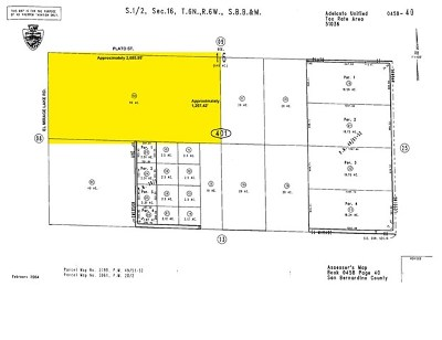 El Mirage Residential Lots & Land For Sale: Plato Road