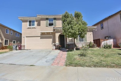 Beaumont Single Family Home For Sale: 37068 Parkway Drive