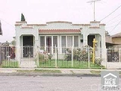 Los Angeles Multi Family Home For Sale: 1030 S Dacotah Street