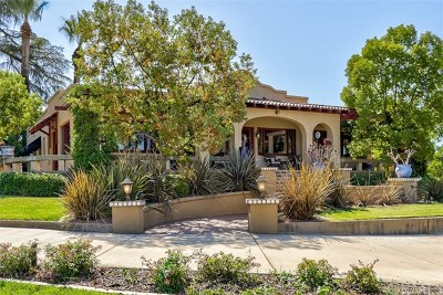 Redlands Single Family Home For Sale: 415 W Sunset Drive